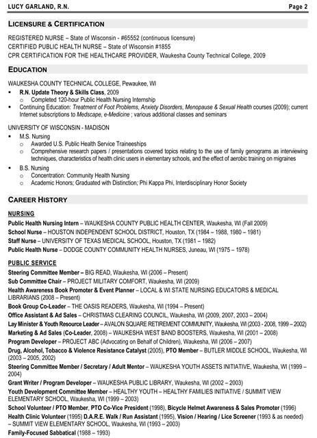 Charming Health Educator Resume Templates Ideas Public Health Resume Sample